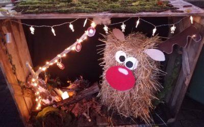 Participation au concours de décoration de Noël du village